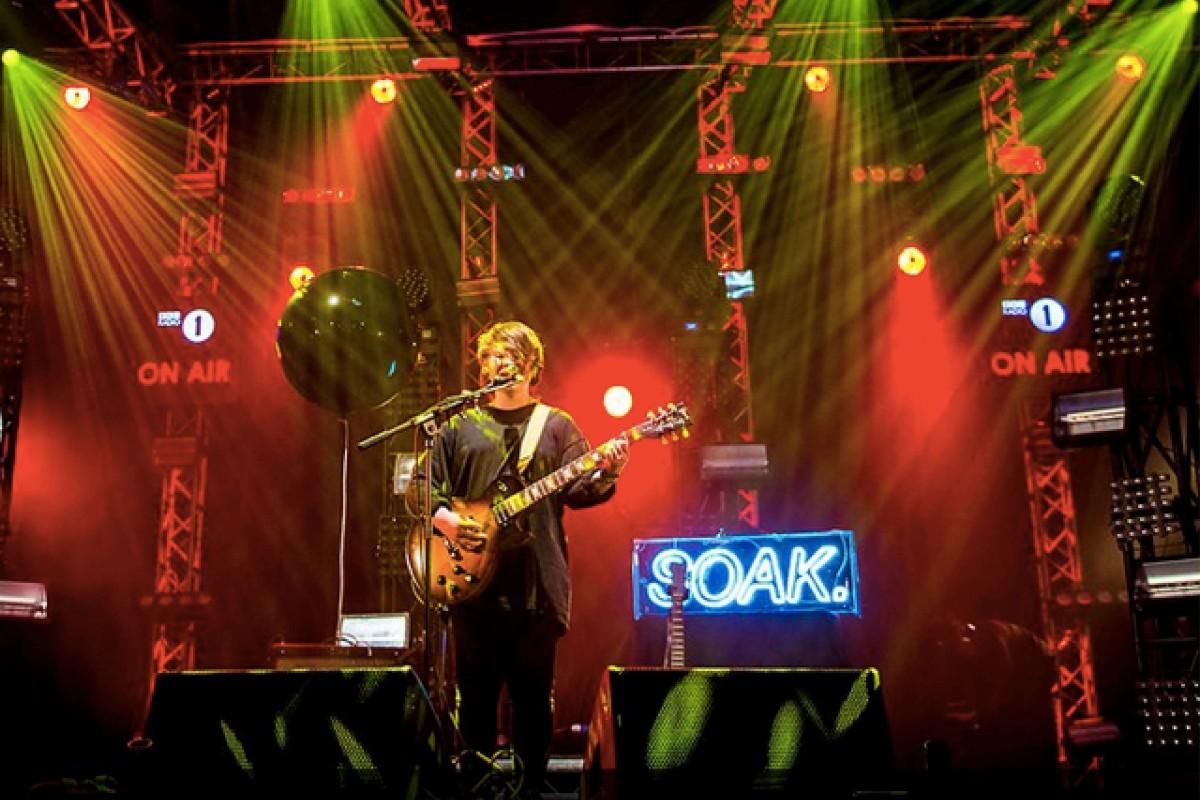 Radio 1 Big Weekend Soak Kemp London Bespoke Neon