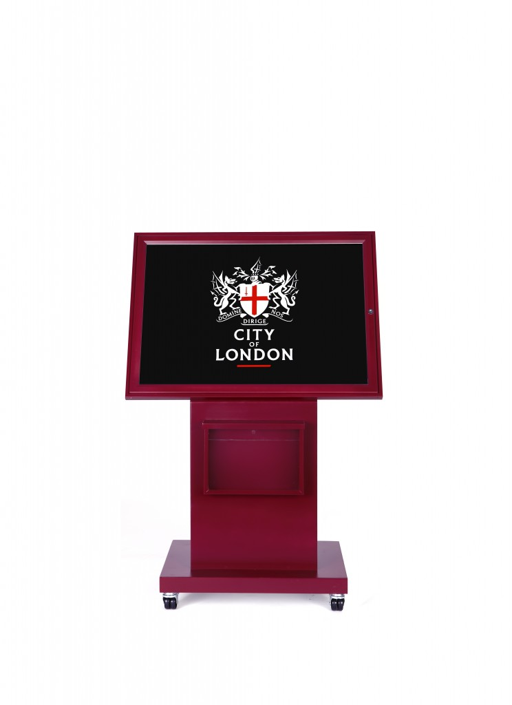Display Stand Hire London : City of london display stands kemp bespoke neon