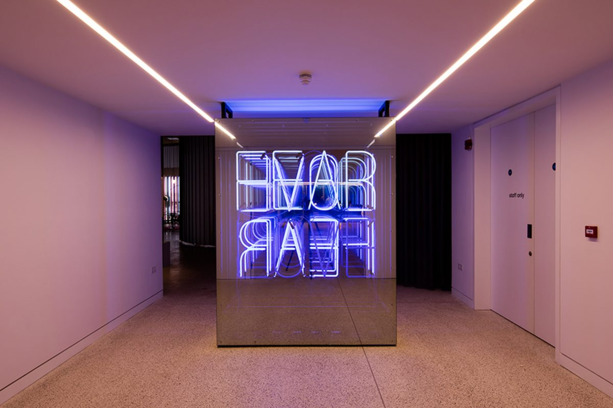D Printer Exhibition London : Fear love the design museum kemp london bespoke neon