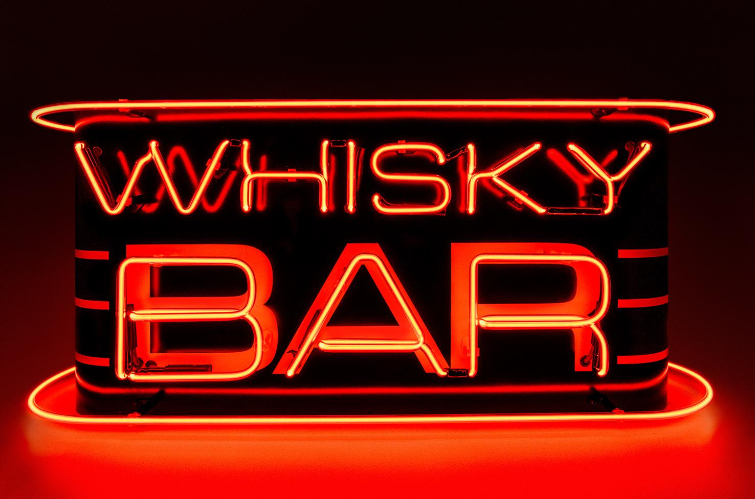 Whisky Bar Kemp London Bespoke Neon Signs Prop Hire