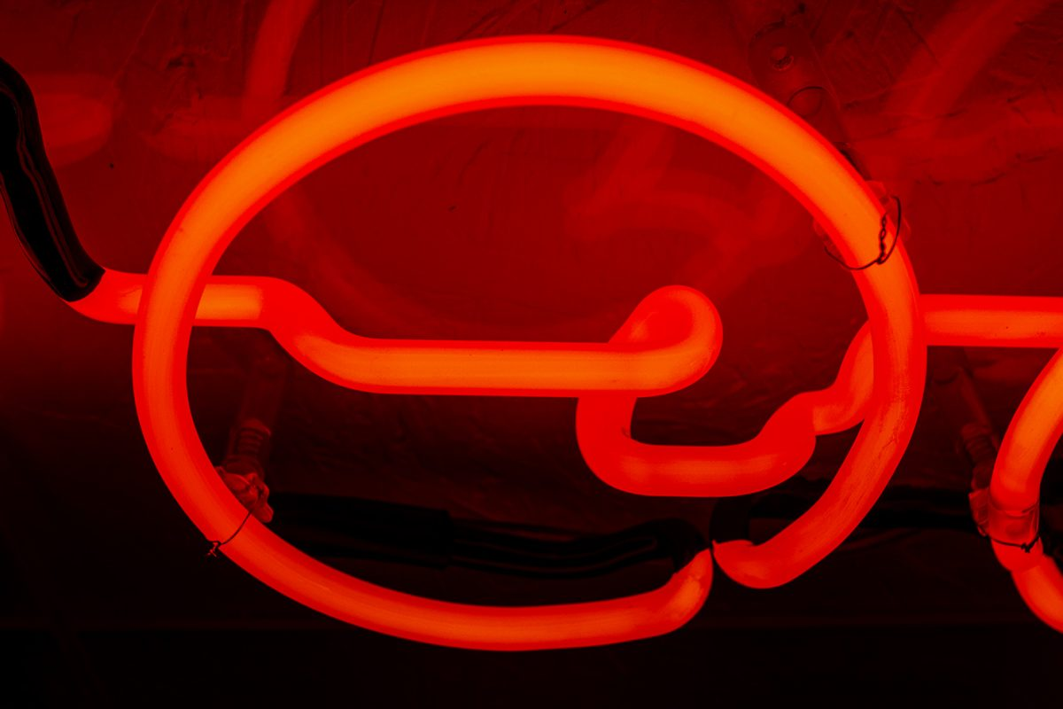 Foo Fighters Kemp London Bespoke Neon Signs Prop Hire Large