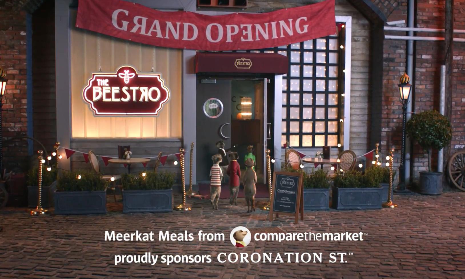 Compare The Market Coronation Street Kemp London